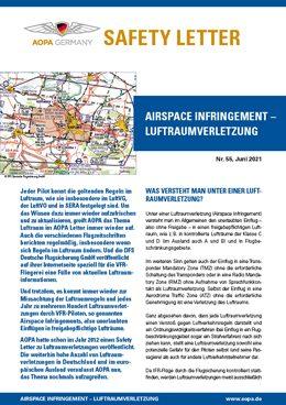 55_Airspace infringement-Luftraumverletzung